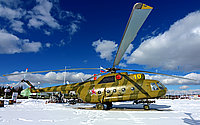 Helicopter-DataBase Photo ID:12482 Mi-8T Park Patriot 10 yellow cn:4249