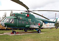 Helicopter-DataBase Photo ID:4156 Mi-8T Aviation Museum Riga 17 red cn:4116