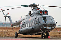 Helicopter-DataBase Photo ID:10105 Mi-8PS Russian Air Force 21 red cn:8584