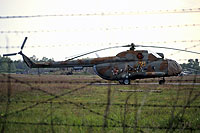 Helicopter-DataBase Photo ID:14069 Mi-8T 6th Independent Helicopter Squadron 21 yellow cn:4777