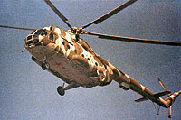 Helicopter-DataBase Photo ID:14379 Mi-8R unknown unit of the Group of Soviet Forces in Germany 22 red