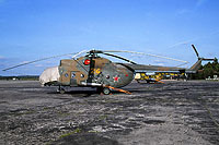 Helicopter-DataBase Photo ID:14100 Mi-8T 41st Independent Helicopter Squadron 24 yellow cn:4757