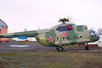 Helicopter-DataBase Photo ID:6047 Mi-8TP Russian Air Force 40 red cn:98947117