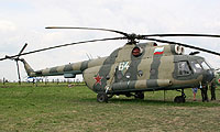 Helicopter-DataBase Photo ID:526 Mi-8T Russian Air Force 64 white cn:4757