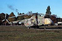 Helicopter-DataBase Photo ID:14277 Mi-8T 439th Independent Combat Helicopter Regiment 68 yellow cn:4255
