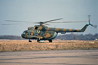 Helicopter-DataBase Photo ID:12226 Mi-8T 55th Independent Helicopter Regiment 73 white cn:2824