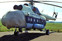Helicopter-DataBase Photo ID:18052 Mi-8AT Soviet Air Force 79 blue cn:9744121