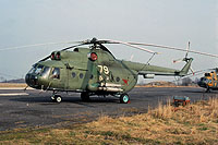 Helicopter-DataBase Photo ID:12230 Mi-8T 55th Independent Helicopter Regiment 79 white cn:4720