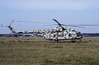 Helicopter-DataBase Photo ID:12231 Mi-8T 55th Independent Helicopter Regiment 80 white cn:9732817