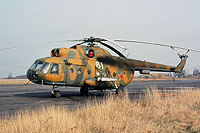 Helicopter-DataBase Photo ID:12232 Mi-8T 55th Independent Helicopter Regiment 81 white cn:9732708
