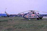 Helicopter-DataBase Photo ID:12172 Mi-8T 199th Independent Helicopter Squadron 84 red