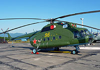 Helicopter-DataBase Photo ID:5440 Mi-8TP Pacific Fleet 96 yellow cn:99154082