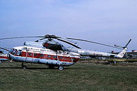 Helicopter-DataBase Photo ID:14588 Mi-8T Berliner Spezial Flug D-HOXB cn:0623