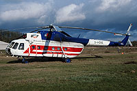 Helicopter-DataBase Photo ID:6797 Mi-8T Berliner Spezial Flug D-HOXE cn:10595