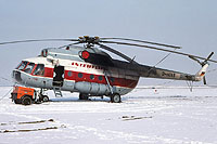 Helicopter-DataBase Photo ID:6798 Mi-8T INTERFLUG D-HOXE cn:10595