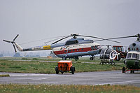 Helicopter-DataBase Photo ID:14589 Mi-8T Berliner Spezial Flug D-HOXP cn:105102