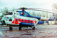 Helicopter-DataBase Photo ID:7965 Mi-8T Berliner Spezial Flug P-71 cn:105103