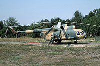 Helicopter-DataBase Photo ID:12305 Mi-8TVK Combat Helicopter Regiment 3 125 cn:10554