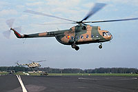 Helicopter-DataBase Photo ID:7866 Mi-8PS Command and Recce Helicopter Squadron 5 732 cn:10597