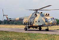Helicopter-DataBase Photo ID:2552 Mi-8TVK Combat Helicopter Regiment 3 751 cn:10577