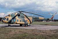 Helicopter-DataBase Photo ID:2551 Mi-8PS Helicopter Training Regiment 35 977 cn:10533