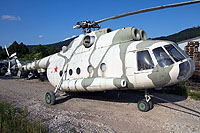 "Helicopter-DataBase Photo ID:14183 Mi-8T Aircraft Exhibition ""Red Stars""  cn:10529"