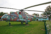 Helicopter-DataBase Photo ID:2699 Mi-8T Central Aeroclub DOSAAF RB - Museum of Aviation Technics 36 blue cn:3701