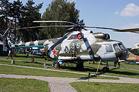 Helicopter-DataBase Photo ID:10281 Mi-8T Central Aeroclub DOSAAF RB - Museum of Aviation Technics 36 blue cn:3701