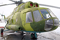 "Helicopter-DataBase Photo ID:11015 Mi-8SMV Museum ""Stalin Line"" 87 white cn:9767104"