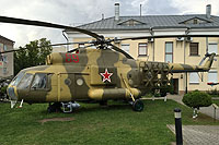 Helicopter-DataBase Photo ID:13381 Mi-8PP Museum of Military Glory 89 red cn:9767301