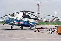 Helicopter-DataBase Photo ID:11966 Mi-8T Turkmenistan Airlines EZ-25960 cn:5806