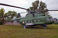 Helicopter-DataBase Photo ID:16848 Mi-8T Aviation Museum Szolnok 10439 cn:10439