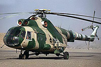 Helicopter-DataBase Photo ID:6459 Mi-8T Djibouti Air Force MAM cn:3113