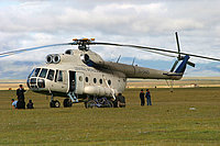 Helicopter-DataBase Photo ID:633 Mi-8T Central Mongolia Airways JU-5445 cn:98103227