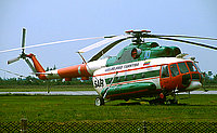Helicopter-DataBase Photo ID:6158 Mi-8T (upgrade by Helisota 1) Lithuanian Air Force 10 blue cn:99150813