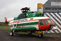 Helicopter-DataBase Photo ID:6287 Mi-8T (upgrade by Helisota 1) Lithuanian aviation museum 12 blue cn:99150818