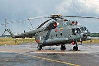 Helicopter-DataBase Photo ID:13238 Mi-8T (upgrade by ASU Baltija) Lithuanian Air Force 26 blue cn:99050154
