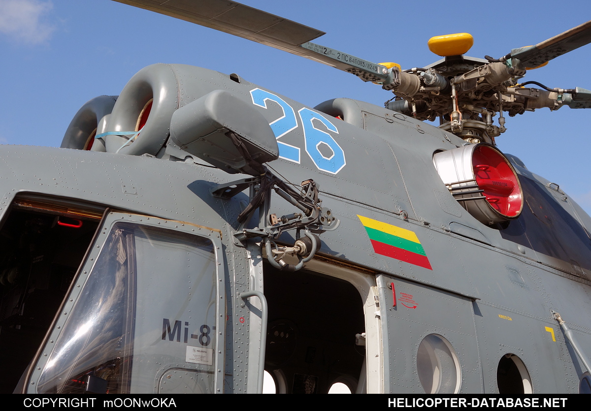 Mi-8T (upgrade by ASU Baltija)   26 blue