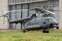 Helicopter-DataBase Photo ID:6284 Mi-8T (upgrade by ASU Baltija) Lithuanian Air Force 26 blue cn:99050154
