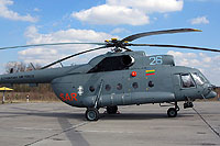 Helicopter-DataBase Photo ID:6376 Mi-8T (upgrade by ASU Baltija) Lithuanian Air Force 26 blue cn:99050154