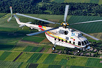 Helicopter-DataBase Photo ID:11186 Mi-8PS (upgrade by Helisota) Lithuanian Air Force 27 blue cn:99050117