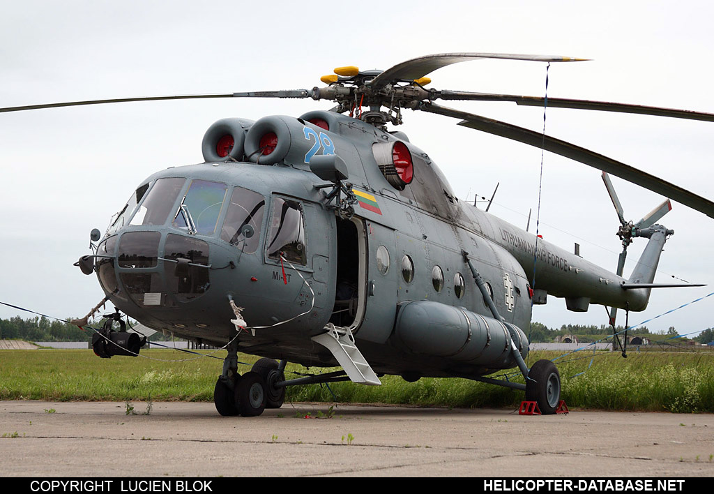Mi-8T (upgrade by Helisota 4)   28 blue