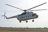 Helicopter-DataBase Photo ID:2045 Mi-8PS United Nations LZ-CAM cn:10318