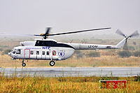 Helicopter-DataBase Photo ID:12179 Mi-8PS United Nations LZ-CAV cn:7411
