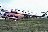 Helicopter-DataBase Photo ID:764 Mi-8T Icona LZ-MSF cn:99150935