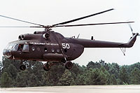 Helicopter-DataBase Photo ID:10639 Mi-8T Aviation Development Test Activity 50 white