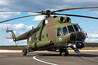 Helicopter-DataBase Photo ID:9852 Mi-8T (upgrade by Finland 2) Finnish Army Air Arm HS-13 cn:13309