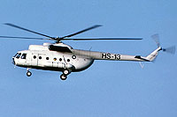 Helicopter-DataBase Photo ID:18040 Mi-8T Finnish Frontier Guard HS-13 cn:13309