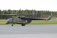 Helicopter-DataBase Photo ID:5384 Mi-8T (upgrade by Finland 2) Finnish Army Air Arm HS-14 cn:13310