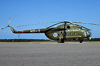 Helicopter-DataBase Photo ID:770 Mi-8T (upgrade by Finland 1) Finnish Air Force HS-2 cn:13302